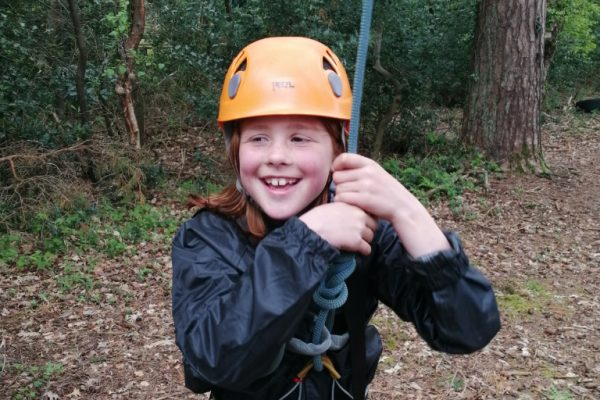 Ready for the low ropes